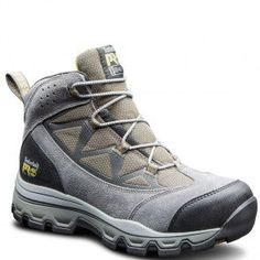 0A11NW001 Timberland PRO Men's Rockscape Mid Safety Boots - Grey www.bootbay.com