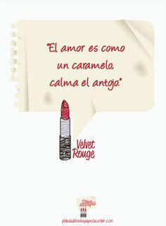 El amor. #Citas #Frases #Pensamientos #Realidades #Amor #Pintalabiosdepapel #Pintalabios #Espanol #VelvetRouge