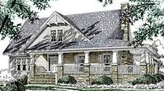 Stonebridge Cottage - Sullivan Design Company   Southern Living House Plans