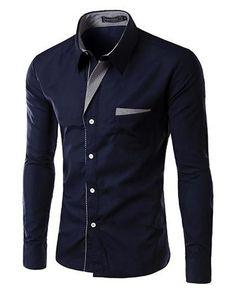 RECEBA DE PRESENTE EM QUALQUER DAS 6 CORES COMPRANDO 3 CAMISAS (insira o código FB16 ao final da compra) -CAMISA CASUAL FASHION DE COR SÓLIDO - DETALHE MODERNO FRONTAL LISTRADO - EM 6 CORES- www.CamisetasImportadas.com #Camisa #Camisas #CamisasImportadas #CamisetasImportadas #ModaMasculina #ModaHomens #Moda2016 #Fashion #FashionMen #MenFashion #Fashion2016 #LookDoDia #OOTD #OOTN