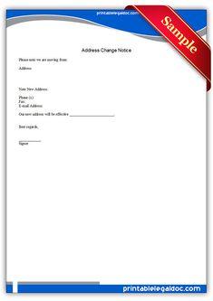 Free Printable Estoppel Letter   Sample Printable Legal Forms ...