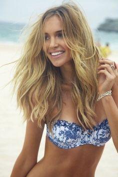 Bikini top. the hair
