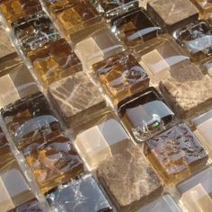 The advantages of mosaic glass tiles.