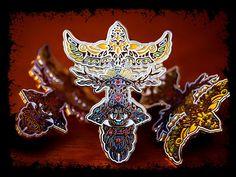 Umphreys Mcgee Hat Pin TotUM Artwork Single by GratefullyDyedDamen, $15.00