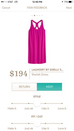Cute dress. Love the color and back detail. Price a bit high for what it is