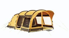 The Tent - Outwell Hilo Reef - First things first. The one thing you really don\'t want to forget - the tent! The Hilo Reef has a highly durable polycotton flysheet supported by high density steel poles. #campingchecklist £800.00
