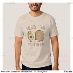 Avocado + Toast Best Friends Funny T Shirt