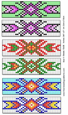 Native american beading patterns barrette for native american beadwork group of by jana Beading Patterns Free, Seed Bead Patterns, Peyote Patterns, Weaving Patterns, Jewelry Patterns, Beading Ideas, Stitch Patterns, Indian Beadwork, Native Beadwork