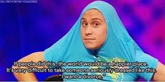 Russell Howard is a wise man