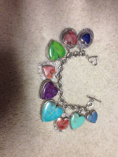 1992+Joan+Slifka+Charm+Bracelet+#JoanSlifka+#Charm