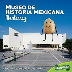 El Museo de Historia Mexicana se localiza en la ciudad de #Monterrey, y forma parte del complejo de 3 Museos junto con el Museo del Palacio y el Museo del Noreste, los cuales forman parte del complejo del Paseo Santa Lucía.   Visítalo, conoce la historia de nuestro País y lleva a #Promanuez contigo.   http://www.promanuez.com.mx/productos #AliméntateSanamente #RicoySaludable #Natural