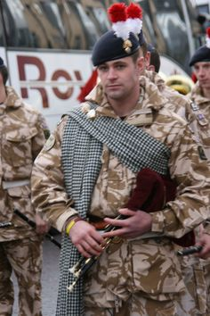 Northumbrian piper, Royal Regiment of Fusiliers