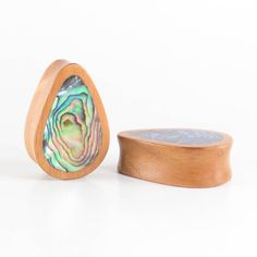 """RT if you love this awesome, you might say """"Sick"""" thing we launched today: http://sick-plugs.co.uk/products/fijian-mahogany-abalone-shell-inlay-hand-made-classic-teardrop-wooden-plug?utm_campaign=social_autopilot&utm_source=pin&utm_medium=pin #sickplugs"""