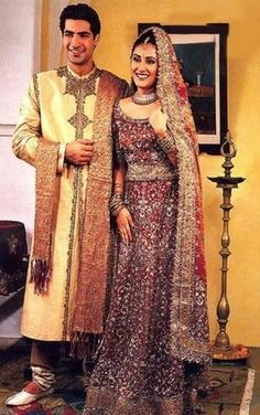 traditional bride & groom attire for the reception. LOVE IT!!