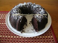 CHOCOLATE MAYONNAISE CAKE Mother made this all the time and topped it with chocolate powdered sugar icing!