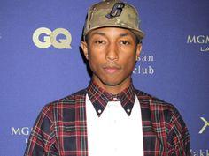 Pharrell Williams Gives Tips for Youthful Looking Skin - http://yolomedspa.com/pharrell-williams-tips-youthful-skin/