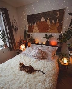 Bohemian Bedroom 680113981212532176 - 75 Modern Bohemian Bedroom Decor Ideas, Source by Bohemian Bedroom Decor, Decor Room, Home Decor, Autumn Decor Bedroom, Boho Room, Autumn Room, Hippy Room, Autumn Fall, Bohemian Comforter