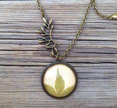 terrarium resin jewelry nature jewelry green by MissMayoShop
