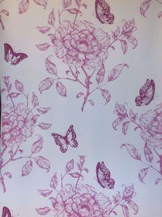 laura ashley butterfly wallpaper