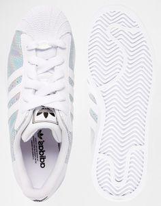 Adidas Metallic White