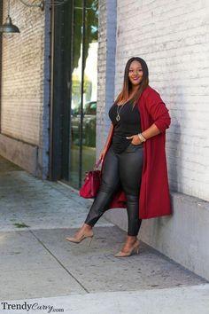 Stylish Plus-Size Fashion Ideas – Designer Fashion Tips Plus Size Fashion Blog, Plus Size Fashion For Women, Curvy Girl Fashion, Plus Size Women, Plus Fashion, Womens Fashion, Petite Fashion, Fashion Night, Fashion Black