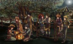 Fairy Oak forever Fairy Oak, Fandoms, Halloween, Book Lovers, Opera, Harry Potter, Illustration Art, Fan Art, Cartoon