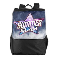 WWE SummerSlam 2016 Womens Black Funny Lightweight Athletic Adjustable Strap Shoulder Bag -- You can find out more details at the link of the image.