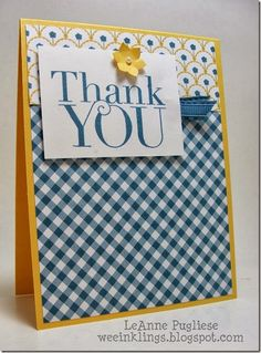 LeAnne Pugliese WeeInklings  Another Thank You