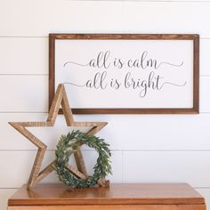 Rustic, Farmhouse Wood Signs are perfect for creating the look you love in your home. Inspirational sayings and Christmas themes are listed in my Etsy shop! A NEW BATCH OF WOOD SIGNS ON ETSY Christmas Bows, Cozy Christmas, Rustic Christmas, Christmas Themes, Christmas Crafts, Christmas Decorations, Xmas, Holiday Signs, Christmas Signs