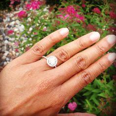 My beautiful engagement ring...
