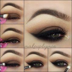 Black Smokey Eyeliner Tutorial