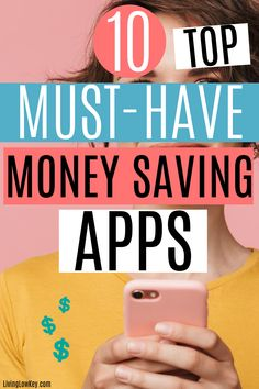 You are going to love these money saving apps! If you are trying to save money and frugal living hasn't panned out for you make sure to give these money saving apps a try! I wish I would have known about these sooner. I've saved so much cash using these already. #moneysavinghacks #savingmoneytips #waystosavemoney Best Money Saving Tips, Money Tips, Saving Money, Frugal Living Tips, Frugal Tips, Save Your Money, Ways To Save Money, Money Challenge, Best Savings