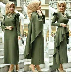 One dress 3 ways to wear it Rompi jait pisah
