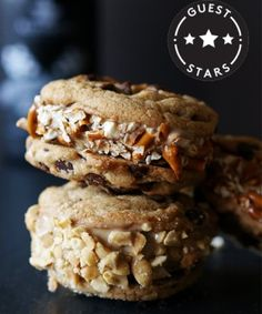 Beer-Ice-Cream Sandwiches On Chocolate-Chip Cookies — We're Serious!