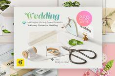 Wedding 3 Mockup Scene Creators  by LS-tore on @creativemarket