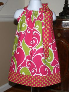 She makes the best pillowcase dresses on the net and finds the most gorgeous fabrics.
