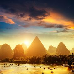 Yangshuo in Guilin, China