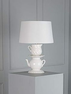 Linea Bridget teatime stack table lamp