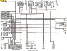 Virago 1100 Wiring Diagram For Yamaha virago, Yamaha