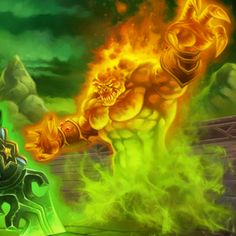 Flame of Azzinoth - Hearthstone: Heroes of Warcraft Wiki