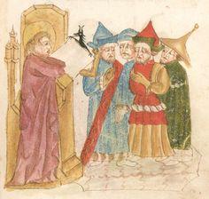 Weltchronik. Sibyllenweissagung. Antichrist  BSB Cgm 426, Bayern,  3. Viertel 15. Jh  Folio 119