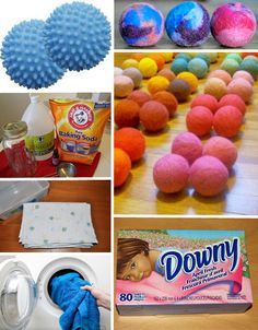 How to Make Your Own Nontoxic Dryer Sheets and Dryer Balls