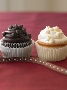 Ghirardelli dark chocolate #cupcakes