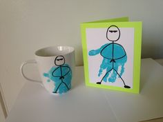 Dad, you're my hero! Father's Day kids craft