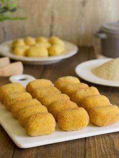 Croquetas de mijo Delicious Vegan Recipes, Good Healthy Recipes, Baby Food Recipes, Vegetarian Recipes, Cooking Recipes, Food N, Food And Drink, Vegan Main Course, Easy Vegan Lunch