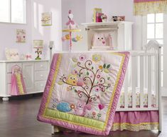 LOVE THIS! Amazon.com: Dena Happi Tree 8 Piece Crib Bedding Set: Baby