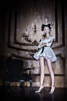 Alice in wonderland - blue dress
