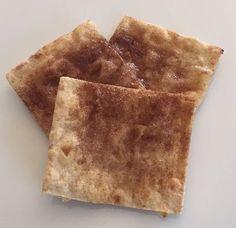 Homemade Cinnamon Sugar Crackers