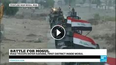 Iraq: Elite Forces enter Karama, the first district inside Mosul: Subscribe to France 24 now : FRANCE 24 live news stream: all the latest…