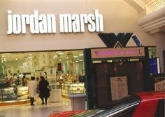 Jordan Marsh - Boston I still miss it!